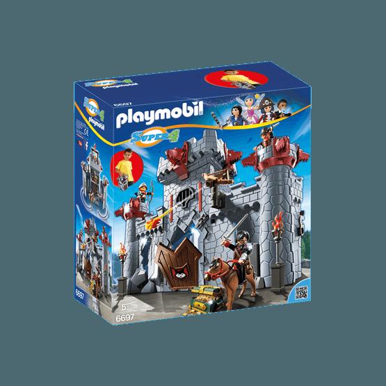Playmobil Super 4 6697, Svarte baronens bärbara slott