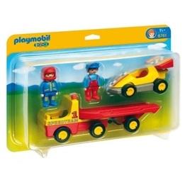 Playmobil, 1.2.3 - Bärgningsbil med racerbil