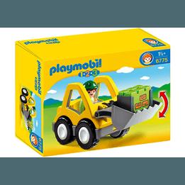 Playmobil 1.2.3 6775, Grävmaskin