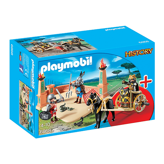 Playmobil History 6868, Gladiatorarena, SuperSet