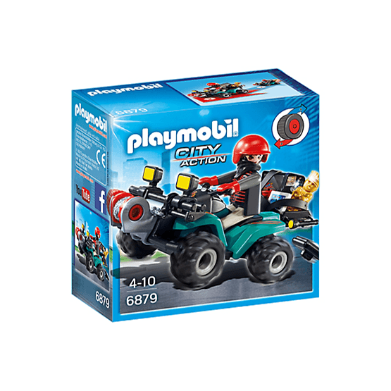 Playmobil City Action 6879, Rånarbil med byte