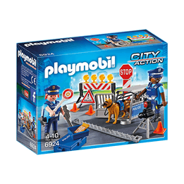 Playmobil City Action 6924, Polisvägspärr