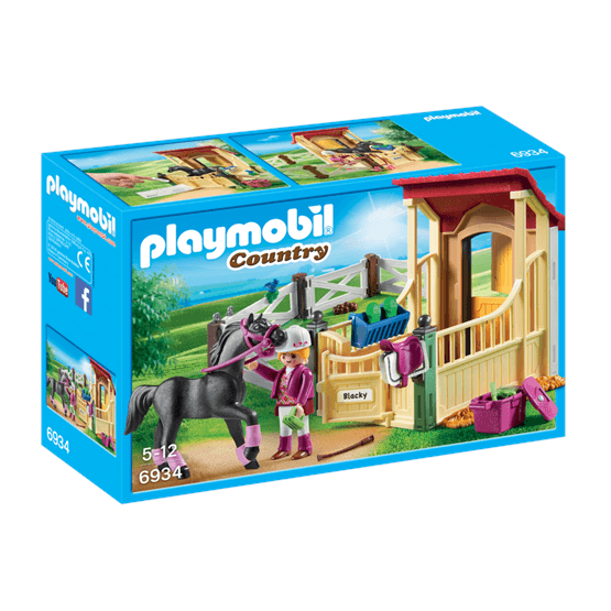 Playmobil Country 6934, Hästbox med Arab