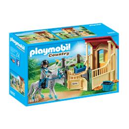 Playmobil Country 6935, Hästbox med Appaloosa