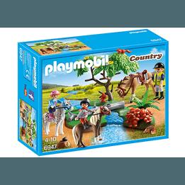 Playmobil Country 6947, Ridtur på landet