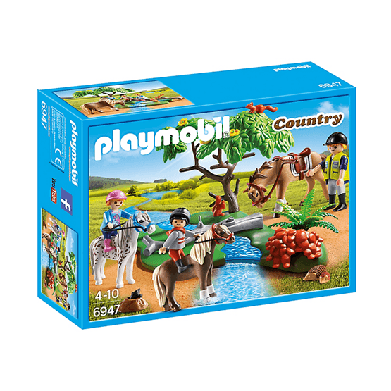 Playmobil Country 6947, Ridtur på landet