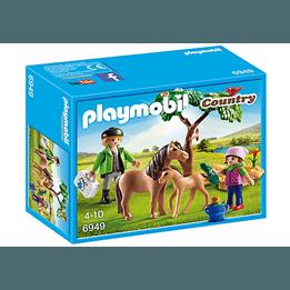 Playmobil Country 6949, Veterinär med ponny och föl