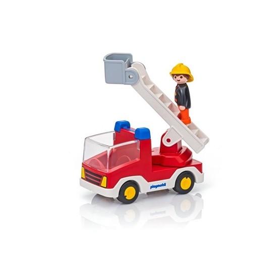 Playmobil 1.2.3 6967, Brandbil med stege
