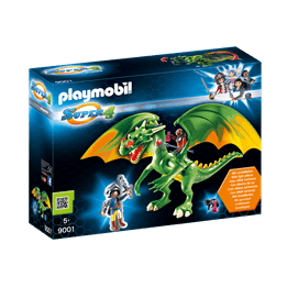 Playmobil Super 4 9001, Alex med drake