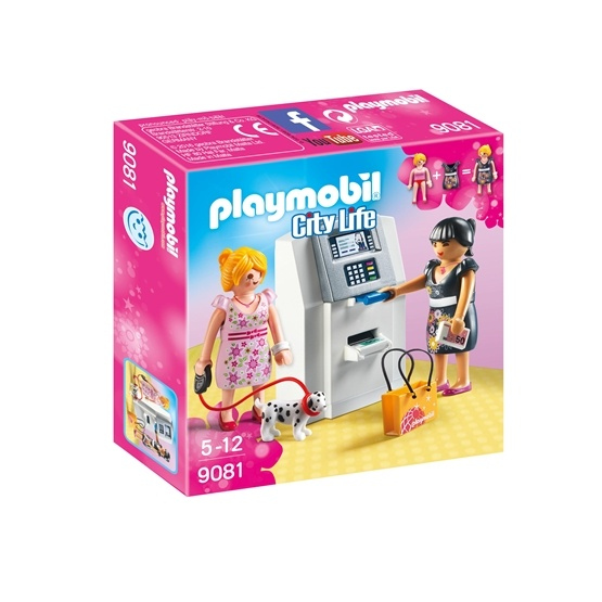 Playmobil, City Life - Bankomat