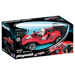 Playmobil Action 9090, RC raketracerbil