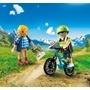 Playmobil, Sports & action - Cyklist och vandrare