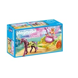 Playmobil Fairies 9136, Älvvagn som dras av enhörningar