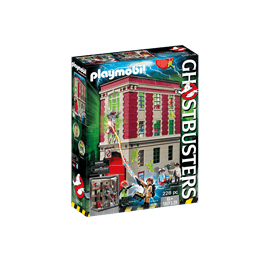 Playmobil Ghostbusters 9219, Ghostbusters brandstation