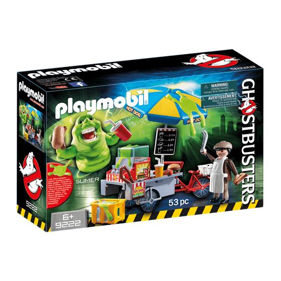 Playmobil Ghostbusters 9222, Slimre med korvstånd