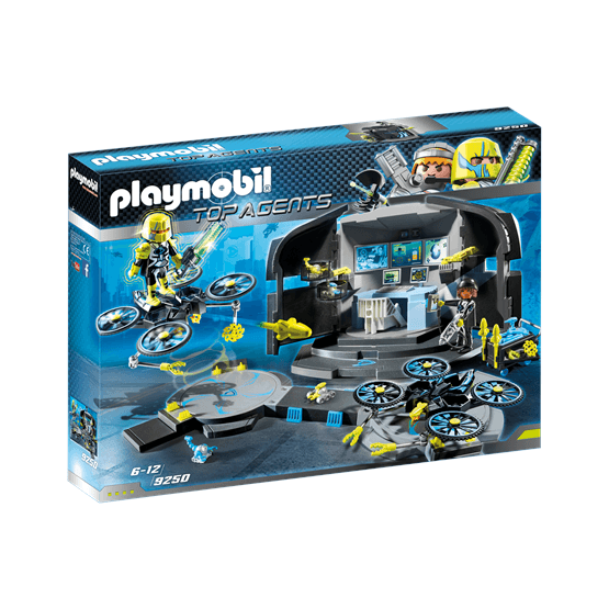 Playmobil Top Agents 9250, Dr. Drones kommandocentral