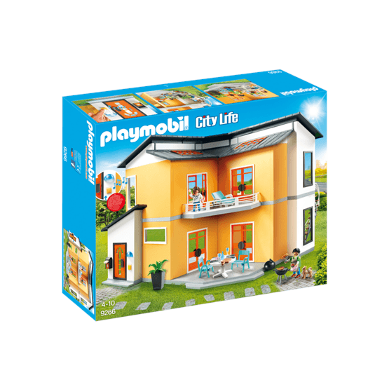 Playmobil City Life 9266, Modernt bostadshus