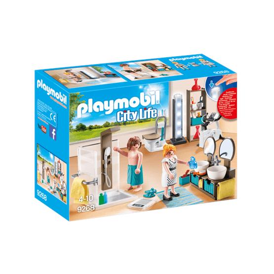 Playmobil City Life 9268, Badrum