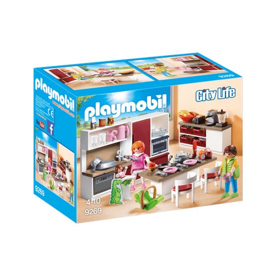 Playmobil City Life 9269, Stort kök för hela familjen