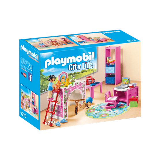 Playmobil City Life 9270, Mysigt barnrum