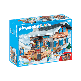 Playmobil Family Fun 9280, Raststugan på berget