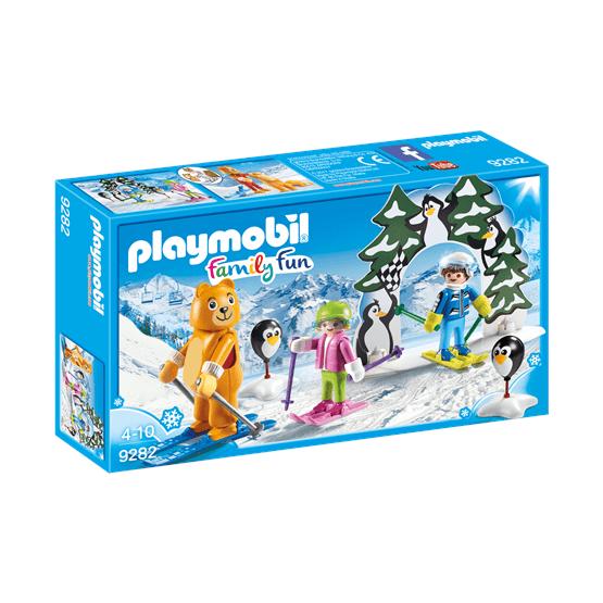 Playmobil Family Fun 9282, Skidskola