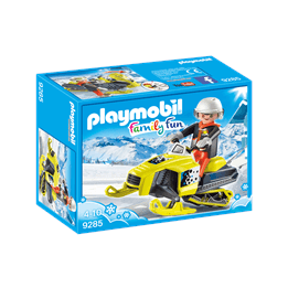 Playmobil Family Fun 9285, Snöskoter