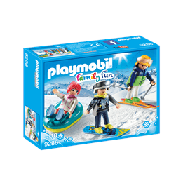 Playmobil Family Fun 9286, Vintersportare