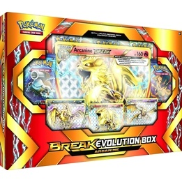 Pokémon, Break Evolution Box Arcanine