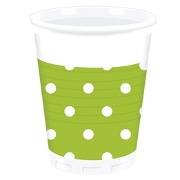 Mugg, 200 ml Lime 8 st
