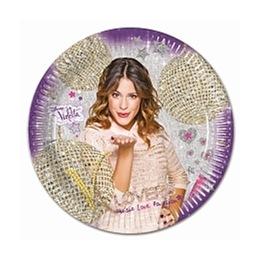 Violetta, Gold Edition Tallrik 8 st