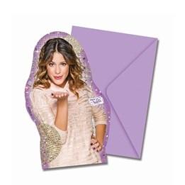 Violetta, Gold Edition Inbjudningskort 6 st