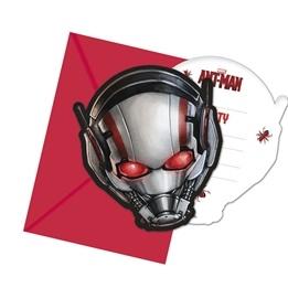 Ant-Man, Inbjudningskort, 6 st