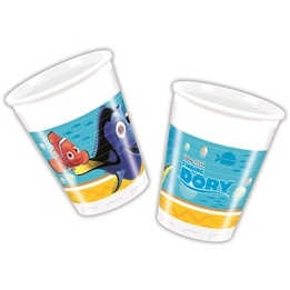 Disney Hitta Doris, Muggar 200 ml 8 st