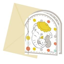 Disney Baby, Inbjudningskort 6 st