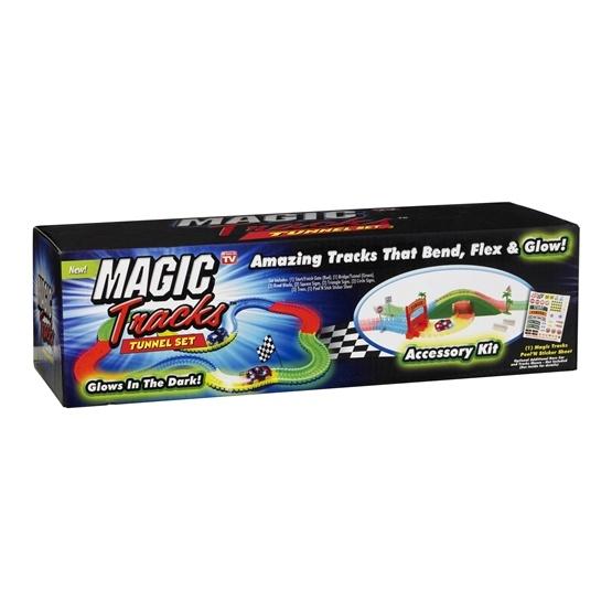 Magic Tracks, Accessory kit med tunnel Glow