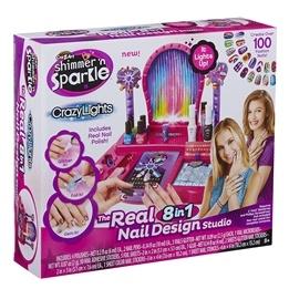 Shimmer 'n Sparkle, Crazy Lights Super Nail Salon