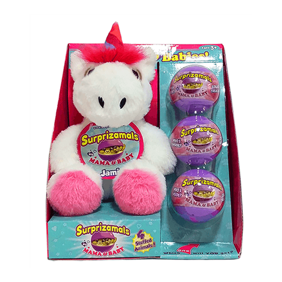 Surprizamals, S3 Mama & Babies - Unicorn Jamie