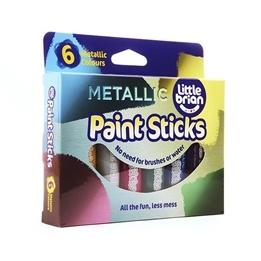 Little brian, Paint Sticks 6-pack - Metallic