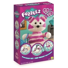 Fuzzeez, Skapa Ditt Egna Mjukdjur - Rosa Katt