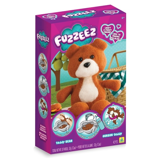 Fuzzeez, Skapa Ditt Egna Mjukdjur - Nallebjörn