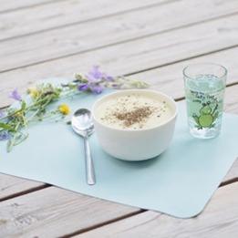 Barnmatsburken - Bordstablett 2 pack - Blå/Grå