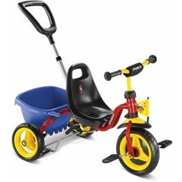 Puky, Trehjuling CAT1S - Röd & Gul