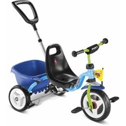 Puky, Trehjuling CAT1S - Blå & Kiwi