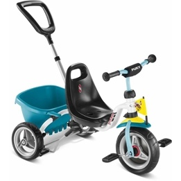 Puky, Trehjuling CAT1S - Vit & Mint