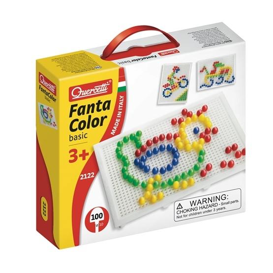 Fantacolor, tavla med 100 peggar, 10 mm