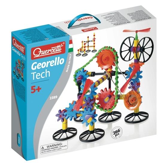 Quercetti, Gears Teknikset 266 delar