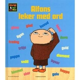 Alfons Åberg, Alfons leker med ord