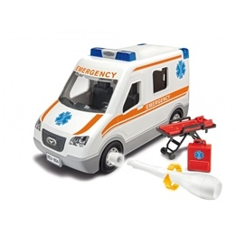 Revell, Junior Kit Ambulans, 1:20
