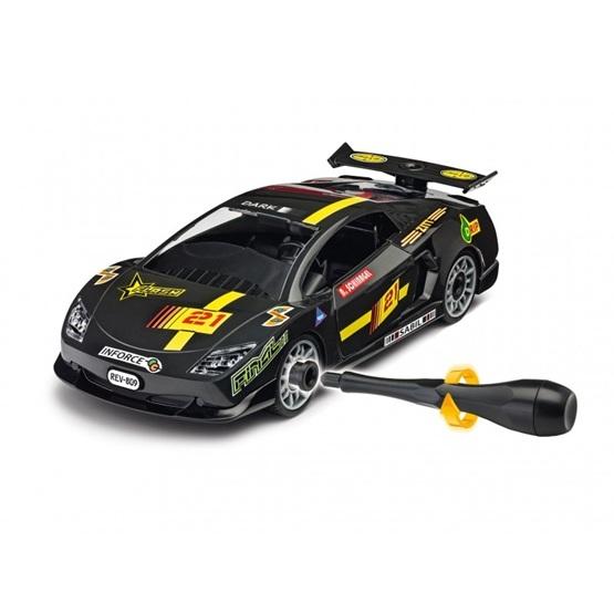Revell, Junior Kit Racerbil svart, 1:20
